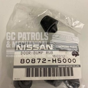 Genuine Nissan Patrol GQ Y60 Rubber Front Door Stopper (80872H5000)