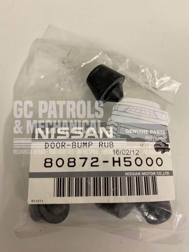 Genuine Nissan Patrol Gq Y60 Rubber Front Door Stopper Y60